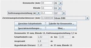 Schärfentiefe Berechnen : hilfe zum sch rfentieferechner ~ Themetempest.com Abrechnung