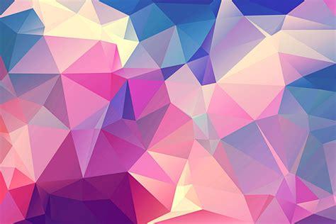 polygonal textures pinspiry