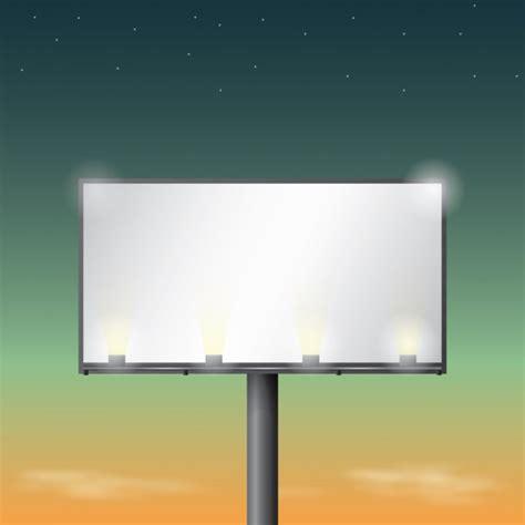 Billboard Template illuminated billboard design vector 626 x 626 · jpeg