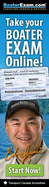 Boating Safety Ontario Canada by Ontario Boating License Test Pleasure Craft