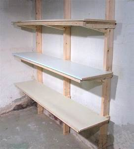 how to build shelves With how to make garage shelves