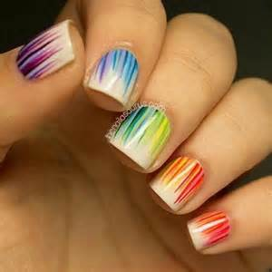 Cute nail designs with tape how to make at home