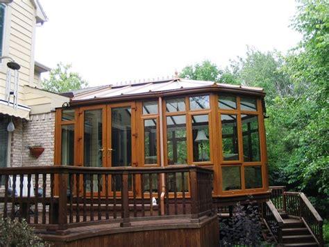 sunroom conservatory photos conservatory wood finish addition craftsman