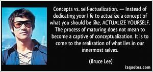 Self-Actualization Quotes. QuotesGram