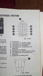 3688 Fuse Diagrahm - General Ih