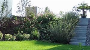 Gräser Für Gartengestaltung : b schung mit gr ser und weiden und platz f r eine wasserrutsche im sommer gartendsein gmbh ~ Sanjose-hotels-ca.com Haus und Dekorationen