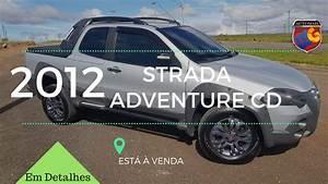 Fiat Strada Adventure Cd Cabine Dupla Etork 2012  U00e0 Venda