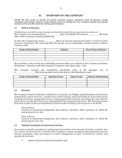 furniture manufacturer business plan legal forms