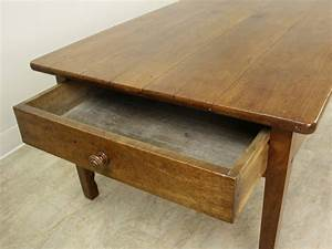 antique french cherry two drawer coffee table for sale at With cherry wood coffee table with drawers