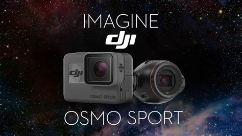 imagine dji osmo sport action camera wetalkuavcom