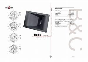 Horns Me75 Manuals