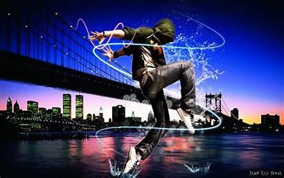 Hop Hip Dance Wallpapers Breakdance Dancer Cool