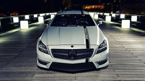 Car, Mercedes Benz Cls, White, C63 Amg Wallpapers Hd