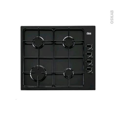 plaque de cuisine gaz plaque de cuisson 4 feux gaz 60 cm email faure