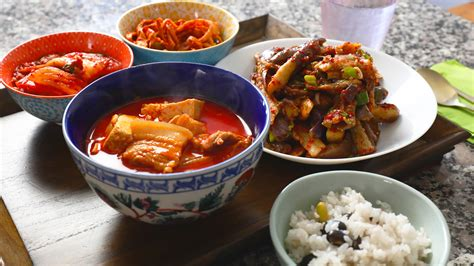 Korean Main Dish Recipes From Cooking Korean Food With