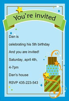 boys birthday invatation templates boy fun birthday free printable birthday invitation