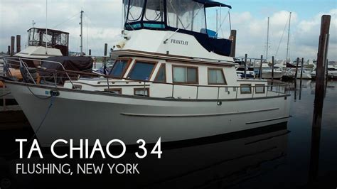 Used Flats Boats Ta by For Sale Used 1984 Ta Chiao 34 In Flushing New York