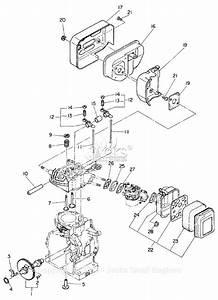 Robin  Subaru Eh11 Parts Diagram For Intake  Exhaust