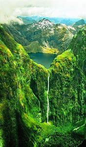 Sutherland Falls New Zealand