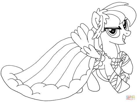 Kleurplaat My Pony Rainbow Dash by My Pony Rainbow Dash Kleurplaat Gratis