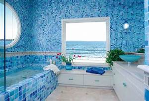 idees deco estivale de style marin pour une maison de With salle de bain design avec décoration thème de la mer