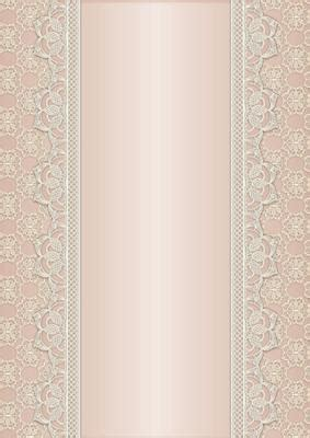 Vintage Lace Panel A4 Background Salmon CUP470628 168