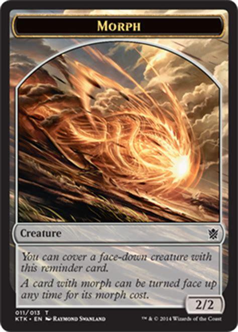 mtg morph deck modern tokens of tarkir magic the gathering