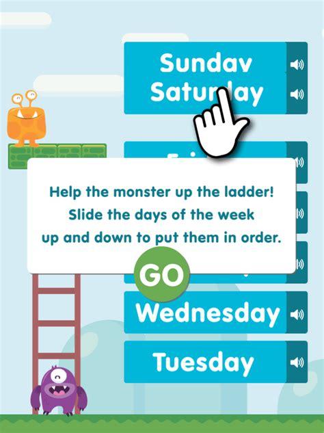order days   week content classconnect