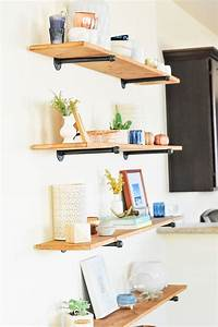 best 25 diy wall shelves ideas on pinterest diy With kitchen cabinets lowes with make your own wall art