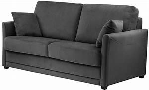 canape marlon canap lit quotidien tissu pas cher With canapé lit but