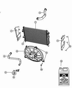 Dodge Journey Hose  Radiator Outlet  Related