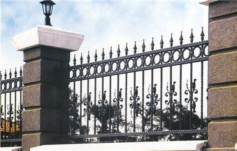 grille cl 244 ture en fer forg 233 ext 233 rieur jardin villa