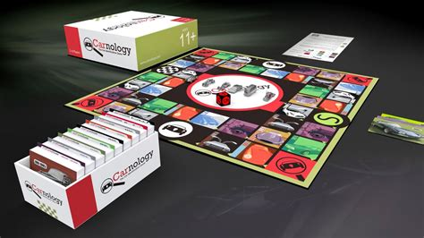 classic car spotters    board game