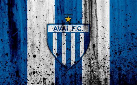 Descargar fondos de pantalla Avai FC, 4k, el grunge, el ...