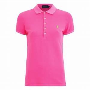 Polo Ralph Lauren Women's Julie Polo T-Shirt - Fuchsia ...