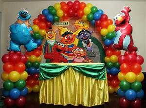 Sesame Street Balloon Decoration Balloons Amp More Ryan