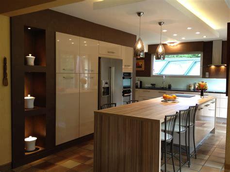 armoire de cuisine ikea cuisine avec îlot central cuisines cuisine