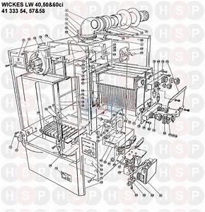 Halstead Wickes Lw 50ci Appliance Diagram  Boiler Assembly