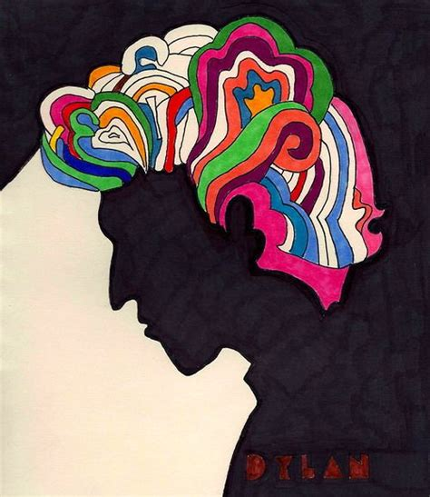 Dylanafter Milton Glaser My Drawings Drawings Art