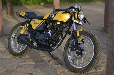 Small Capacity Cafe Racer From India