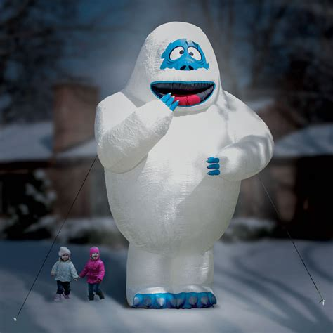 gigantic  foot inflatable bumble  abominable snow monster