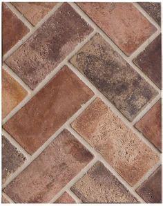 faux brick floor tile faux brick floors on pinterest faux brick bricks and painted floors
