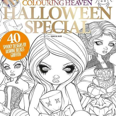 colouring heaven halloween special review featuring