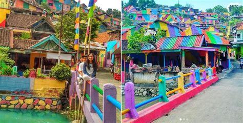 indonesias rainbow village  basically  asian