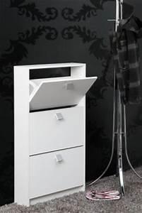 Meuble Largeur 15 Cm : meuble chaussure largeur 60 cm ~ Teatrodelosmanantiales.com Idées de Décoration