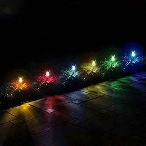 Gigalumi Solar Lights Outdoor Christmas Yard Decoration Garden