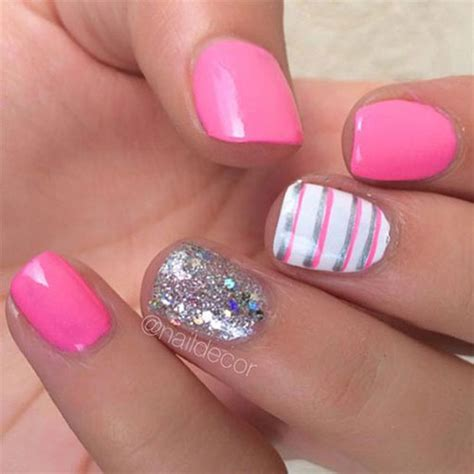 pink nails designs 10 summer pink nail designs ideas 2016 fabulous