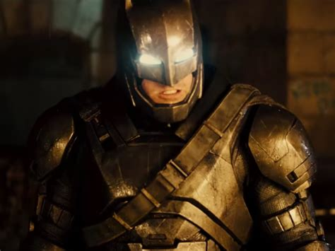 Batman's Suit To Fight Superman  Business Insider
