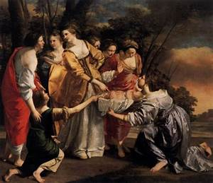 MOSES and MIRIAM: famous paintings of the Bible story
