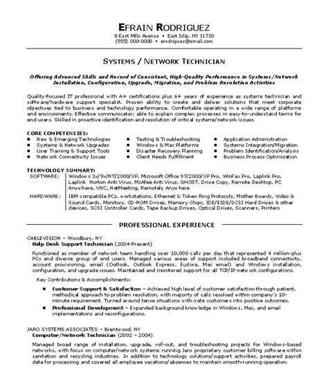 Functional Resume Exle Information Technology by Computer Networking Resume Sle Bookcritic X Fc2